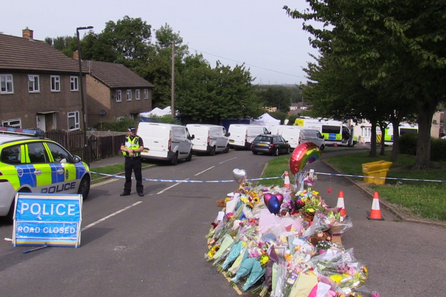 Man charged with murder of Killamarsh mother and three children