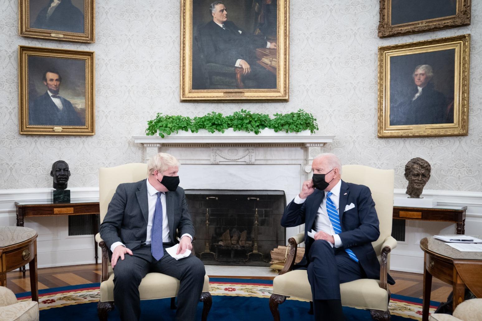 Joe Biden plays down chances of striking trade deal with UK