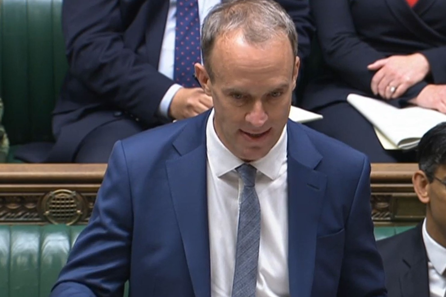 Raab pressed to guarantee people will not suffer fuel poverty