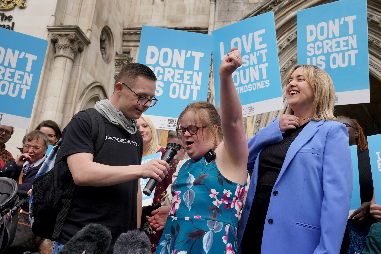 Woman vows to continue fight over Down's Syndrome abortion law