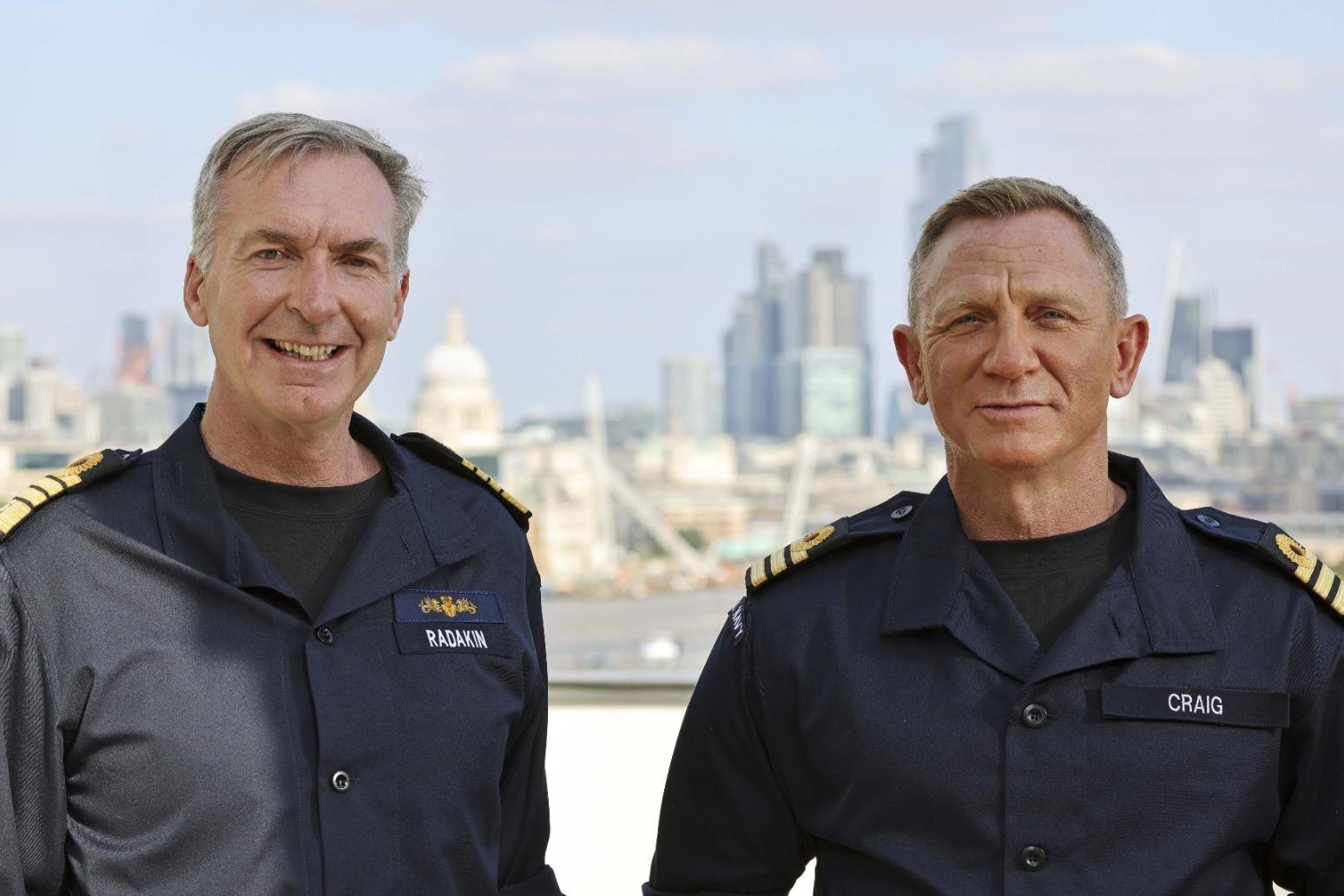 Bond, Commander Bond: Daniel Craig given honorary Royal Navy rank