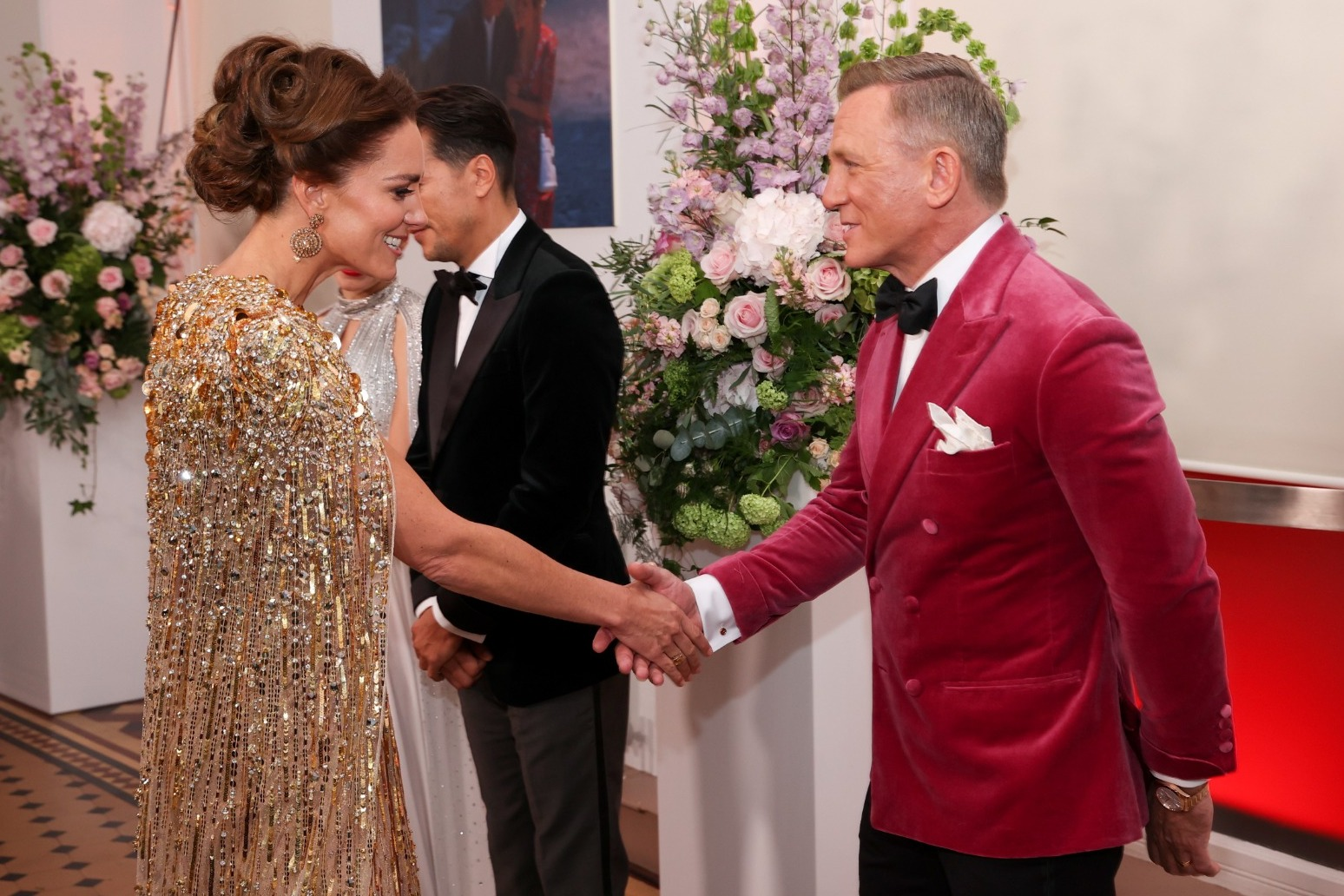 Daniel Craig gets royal send-off as No Time To Die premiere brings out the stars
