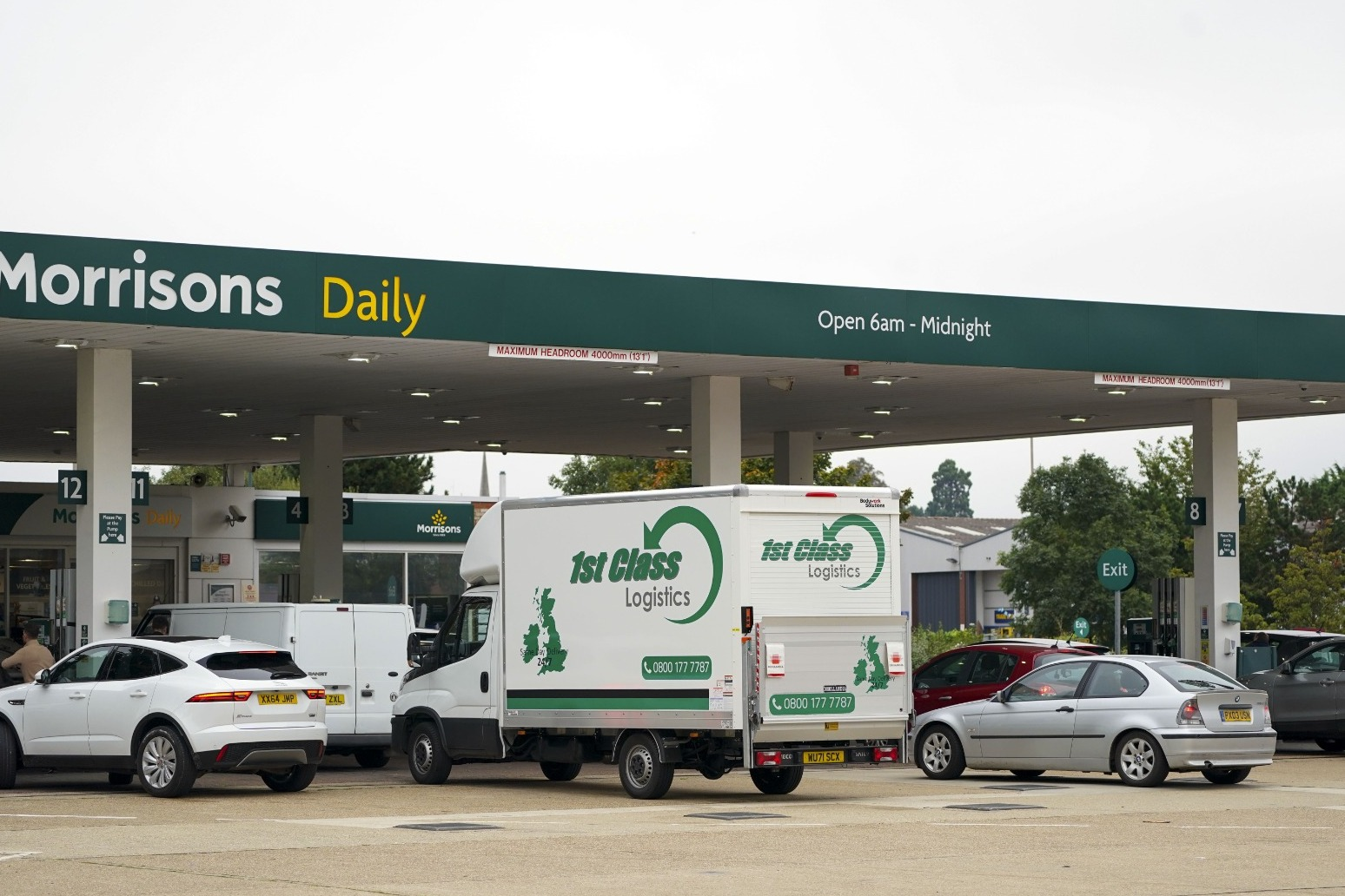 Petrol station shortages 'remain serious'