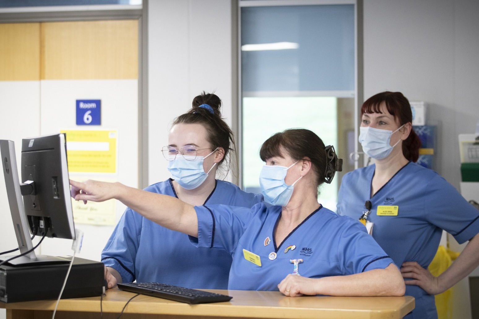 NHS staff say current pressures as worrying as Covid peak
