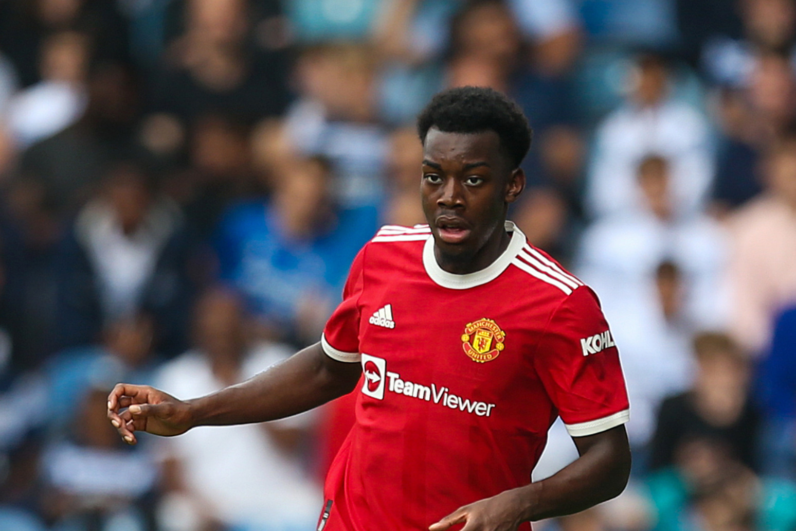 Manchester United's Anthony Elanga 'racially abused' in Sweden Under-21s game