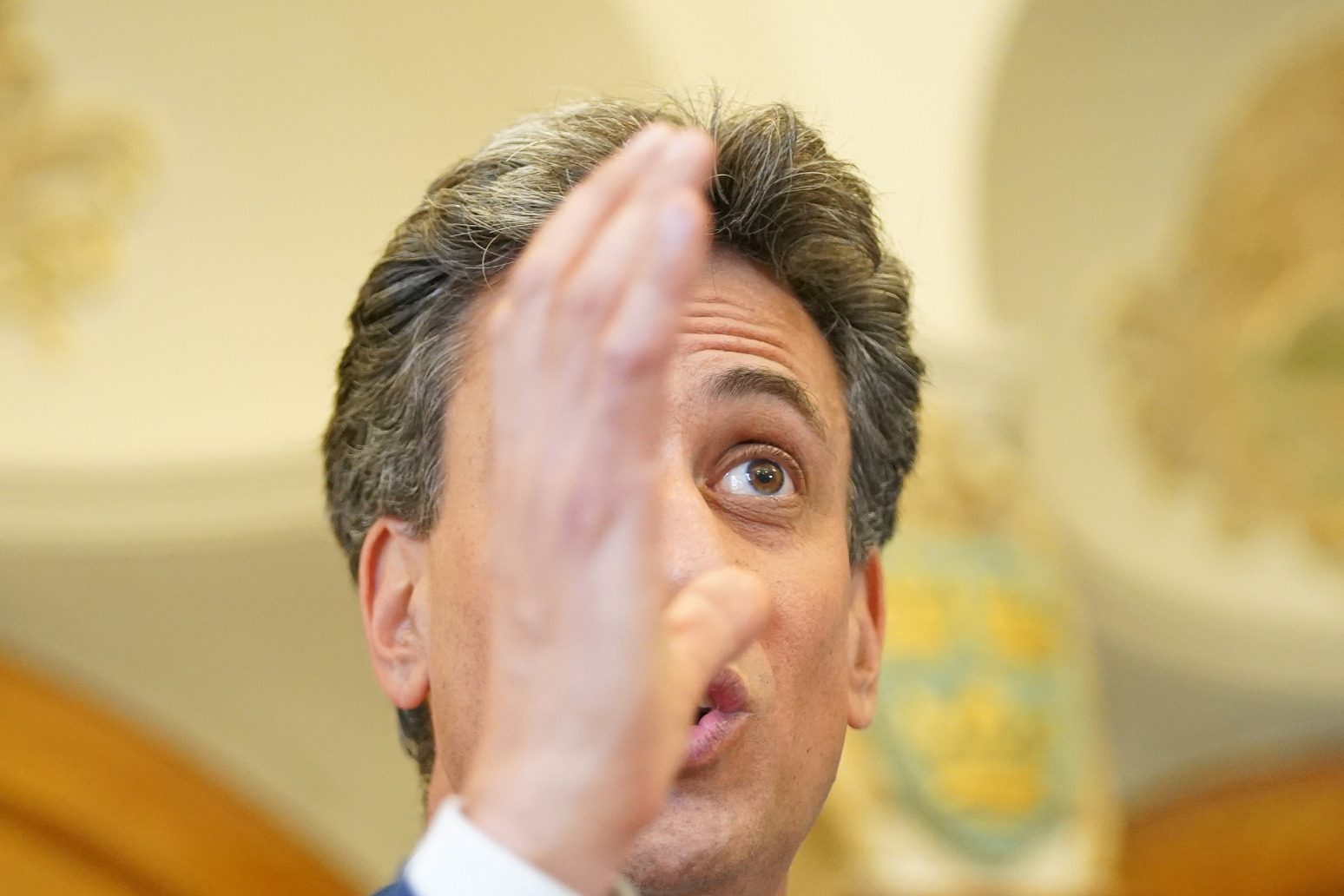 Ed Miliband has urged the Government to take action on credible climate transition plans