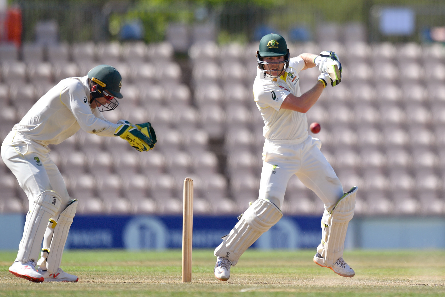Australia batter Will Pucovski takes another blow to the head