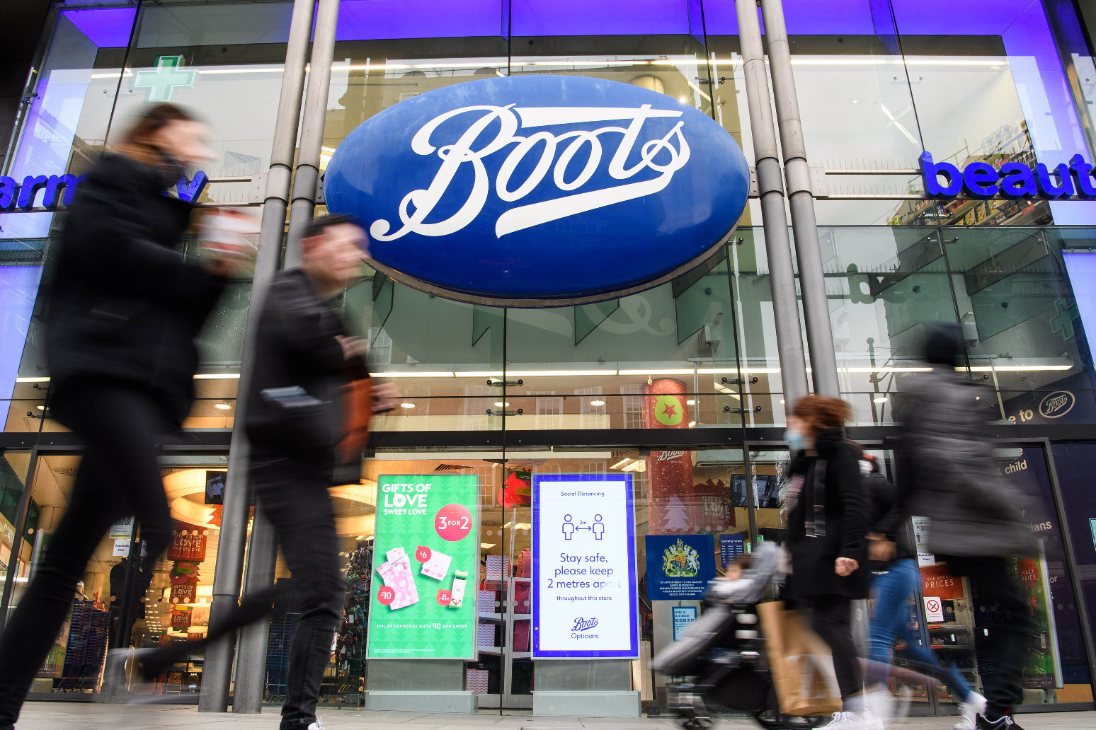Boots sales rebound after lockdown restrictions eased