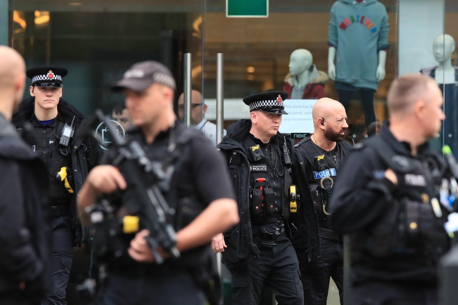 ANTI TERROR POLICE INVESTIGATE MANCHESTER ATTACK