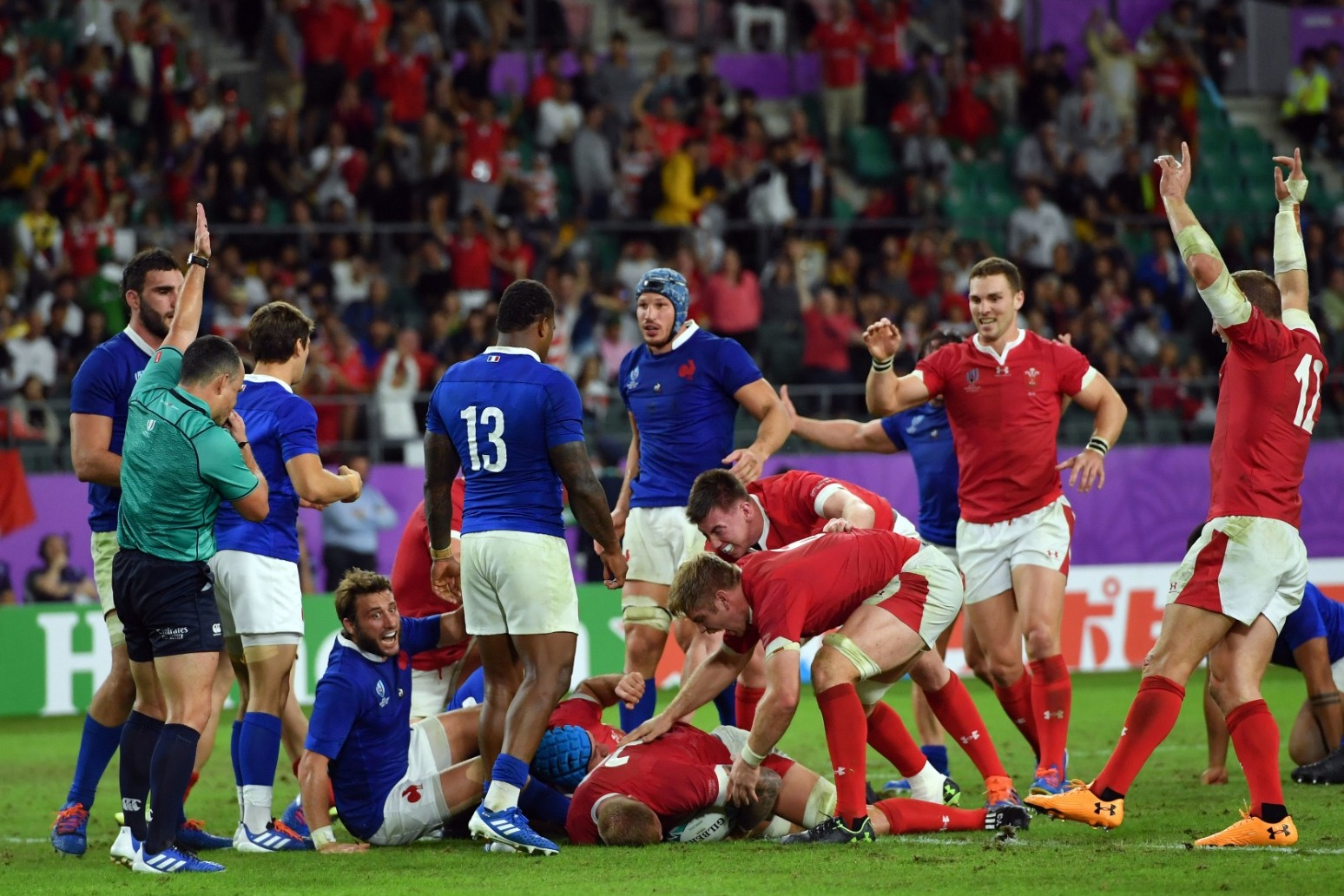 WALES MARCH ON IN WORLD CUP AFTER THRILLING VICTORY OVER FRANCE