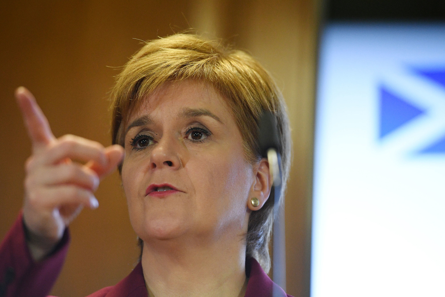 STURGEON CLAIMS SNP GENERAL ELECTION SUCCESS WOULD CONFIRM CASE FOR INDYREF2