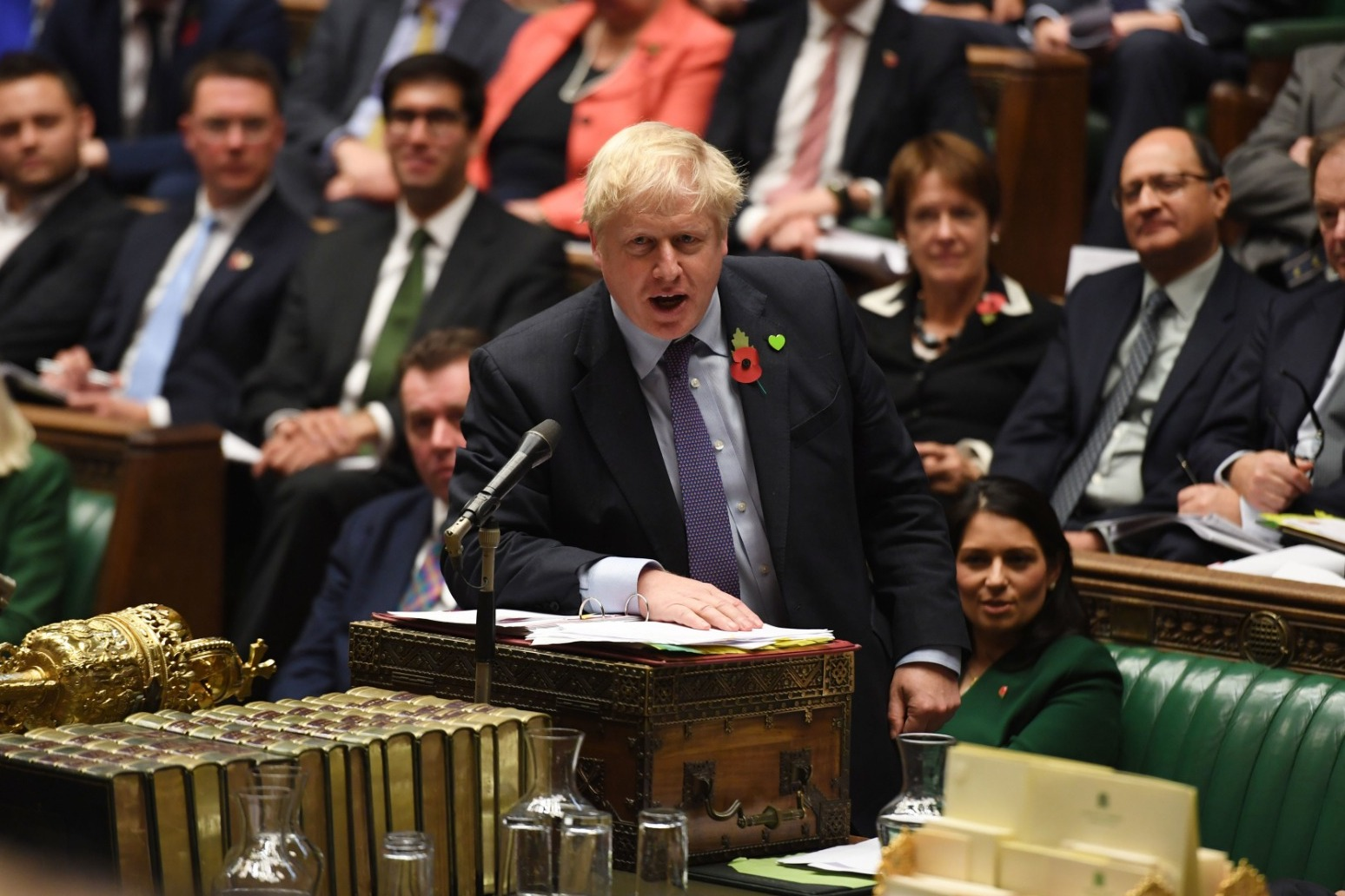 JOHNSON BLAMES CORBYN FOR \'DO OR DIE\' BROKEN BREXIT PLEDGE
