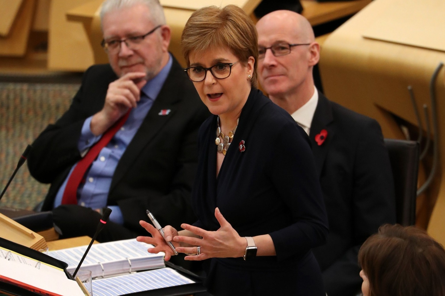 SCOTTISH INDEPENDENCE IS WITHIN TOUCHING DISTANCE - STURGEON