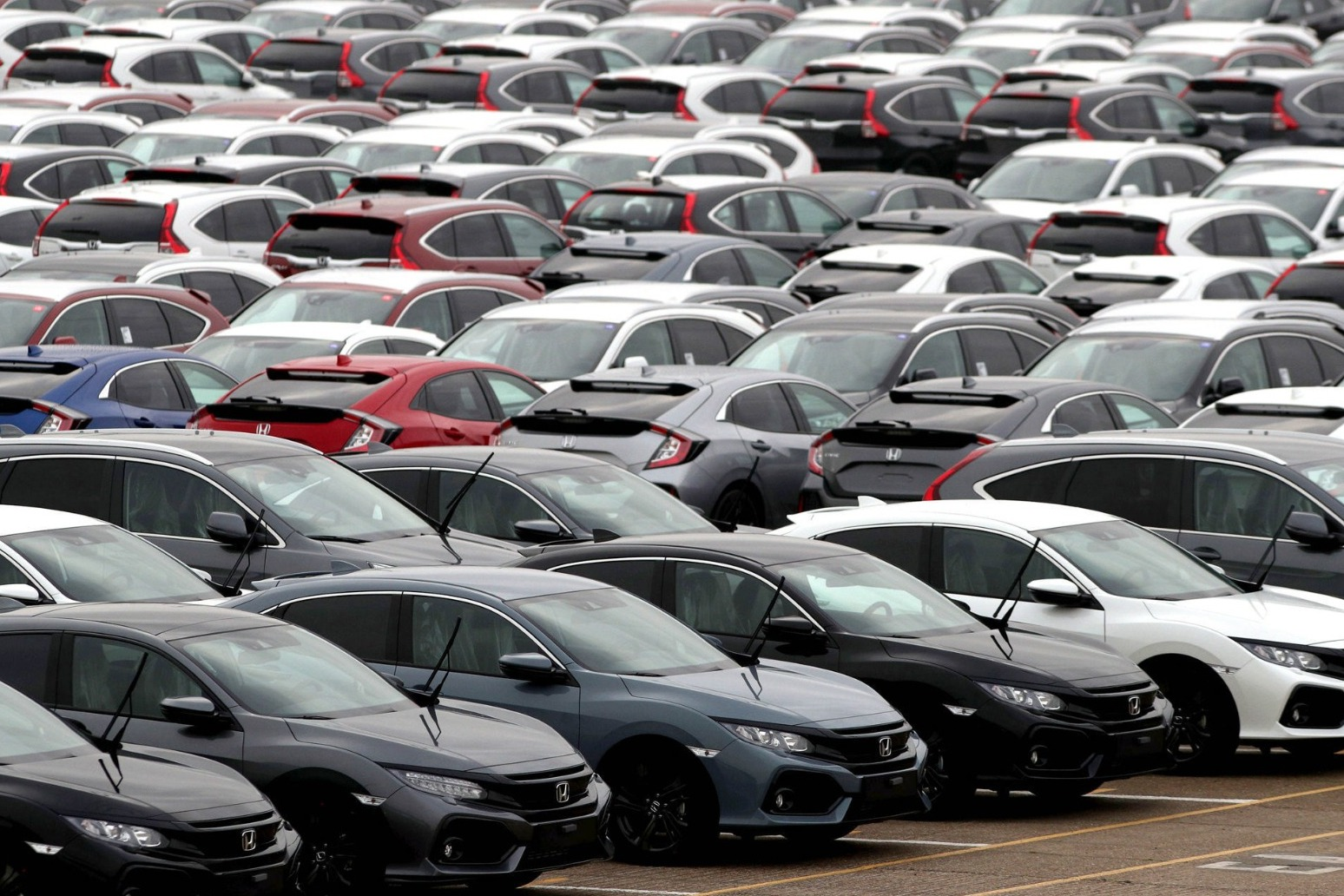 Demand for new cars fell in October