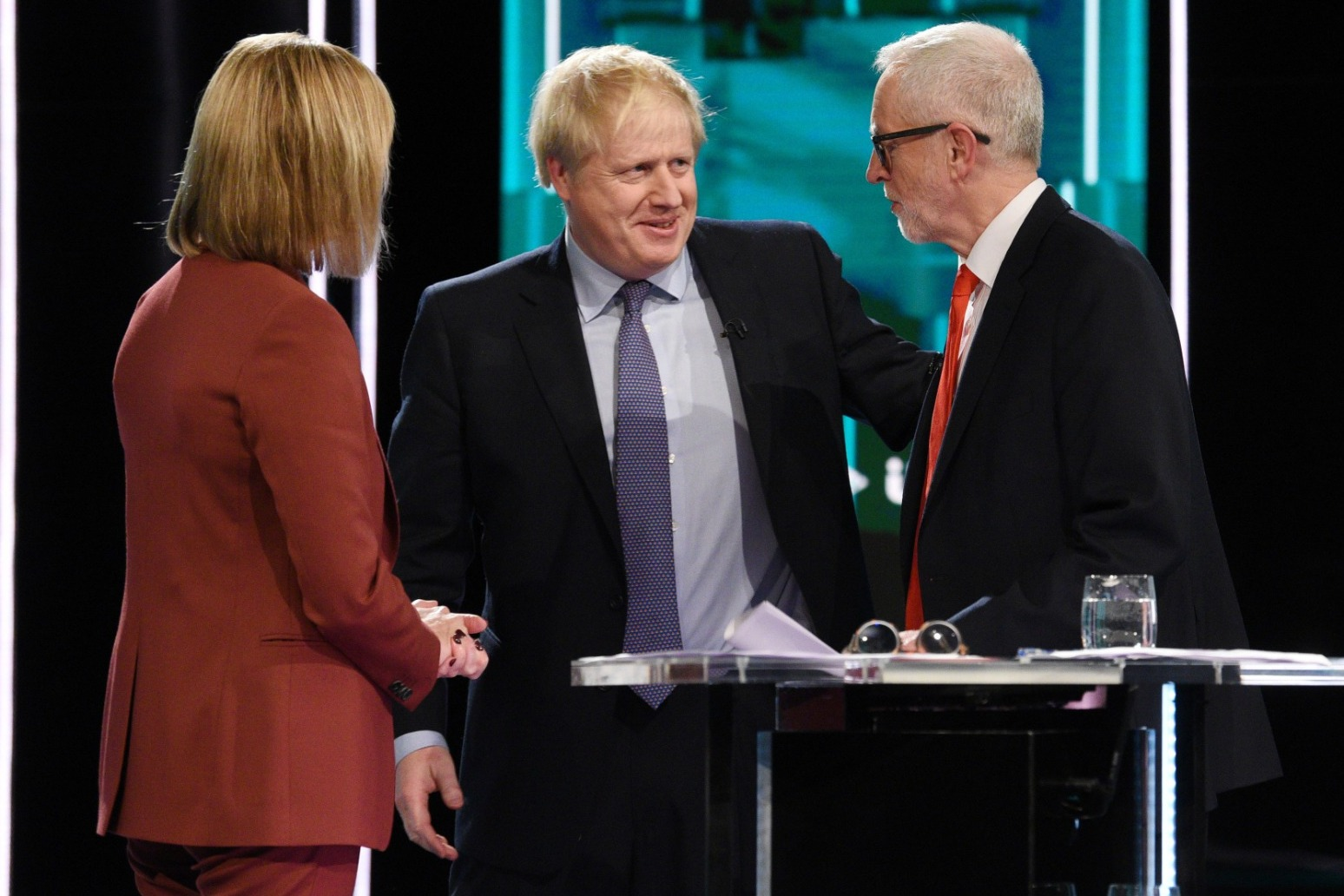 LEADERS PREPARE FOR TV QUESTION TIME