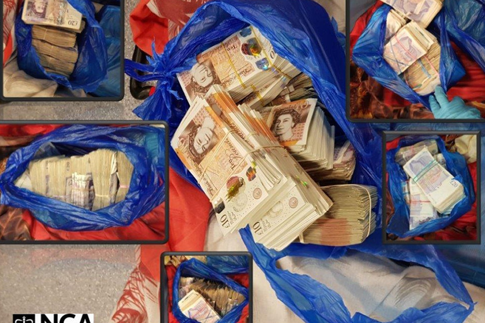 RAIDS TARGET GANG ACCUSED OF SMUGGLING £15.5M OF DIRTY MONEY OUT OF UK