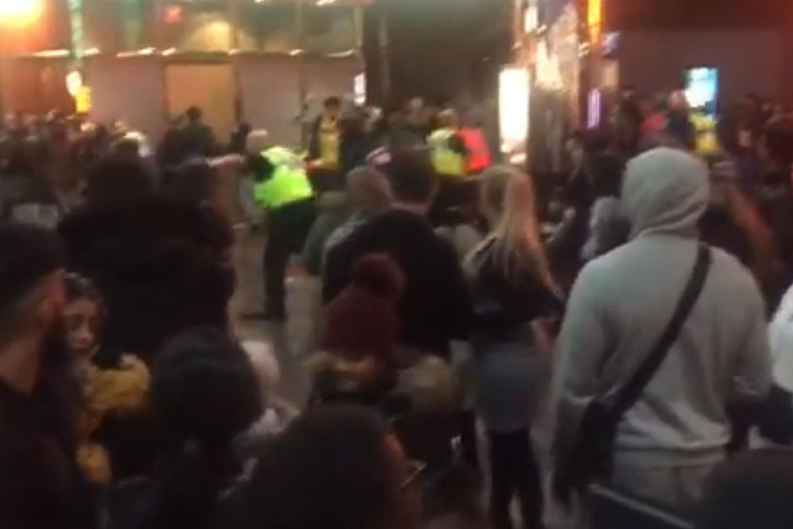 SECOND CINEMA CHAIN DROPS GANG MOVIE AFTER MASS BRAWL