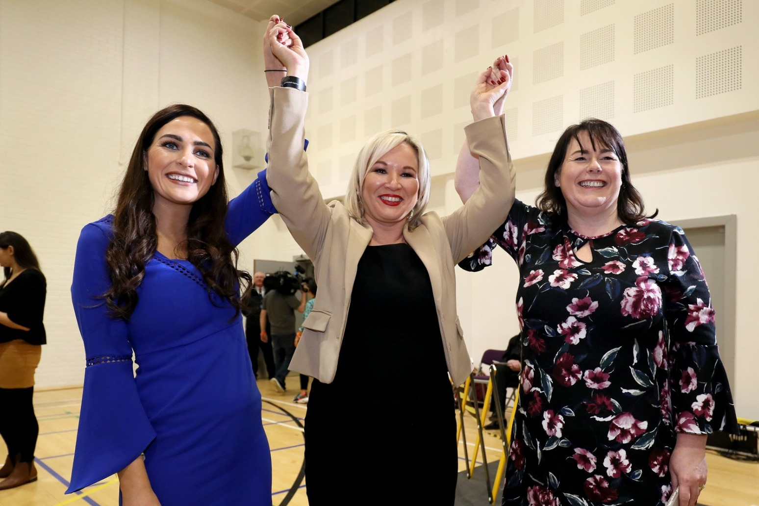 NIGHT OF DEFEATS FOR DUP AS DEPUTY LEADER NIGEL DODDS LOSES BELFAST NORTH SEAT