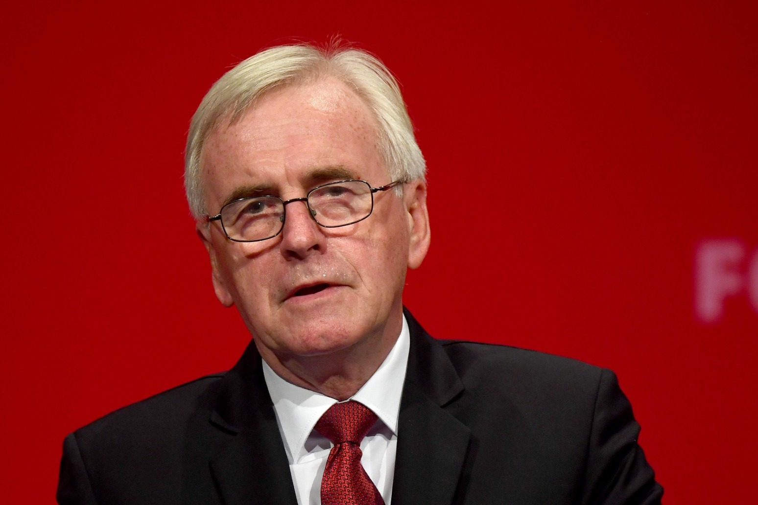 JOHN MCDONNELL TO QUIT FRONTLINE POLITICS FOLLOWING LABOUR DEFEAT