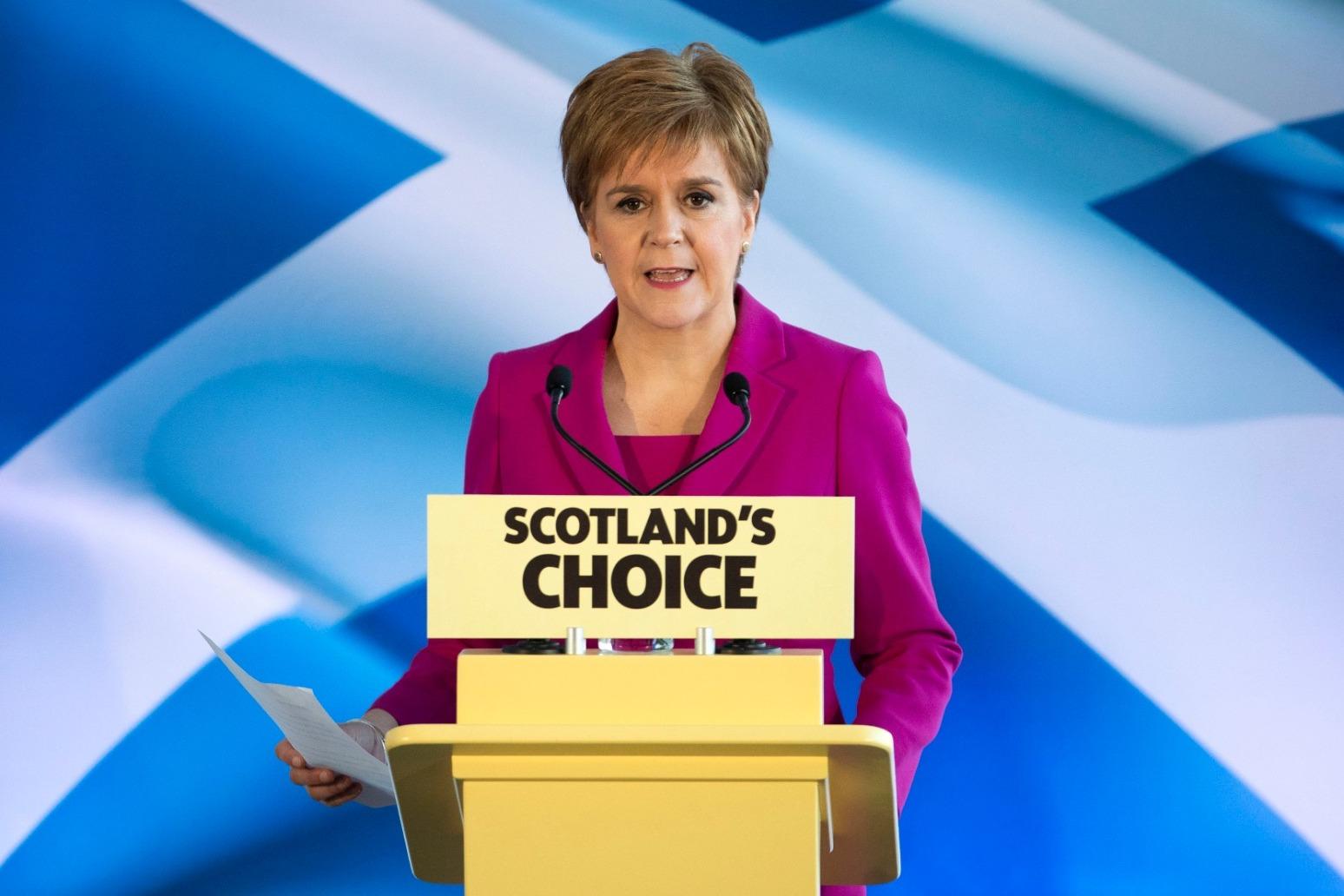 NICOLA STURGEON WARNS \'DEMOCRACY WILL PREVAIL\' AS SHE DEMANDS INDYREF2
