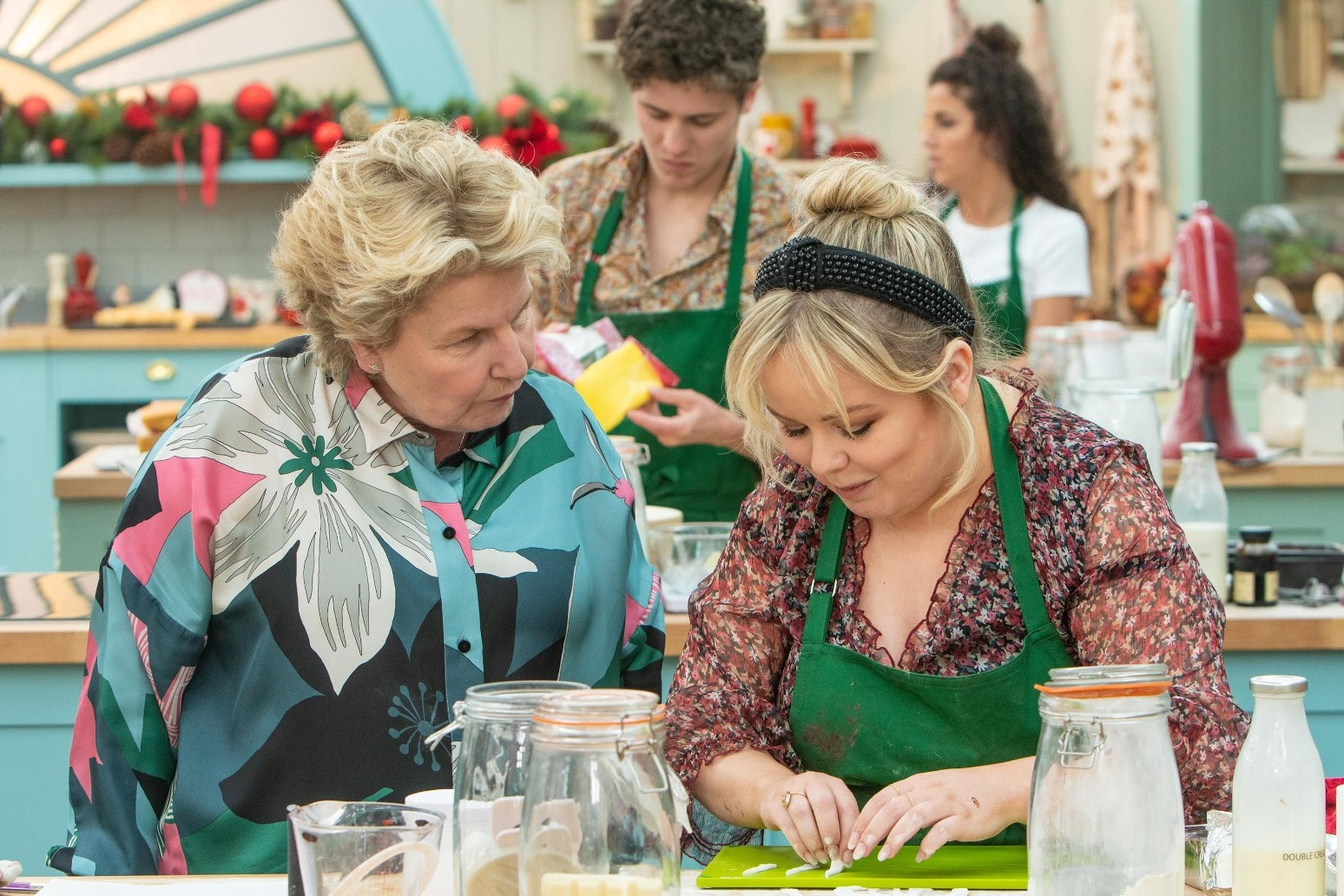 DERRY GIRLS SPECIAL OF THE GREAT BRITISH BAKE OFF CROWNS WINNER