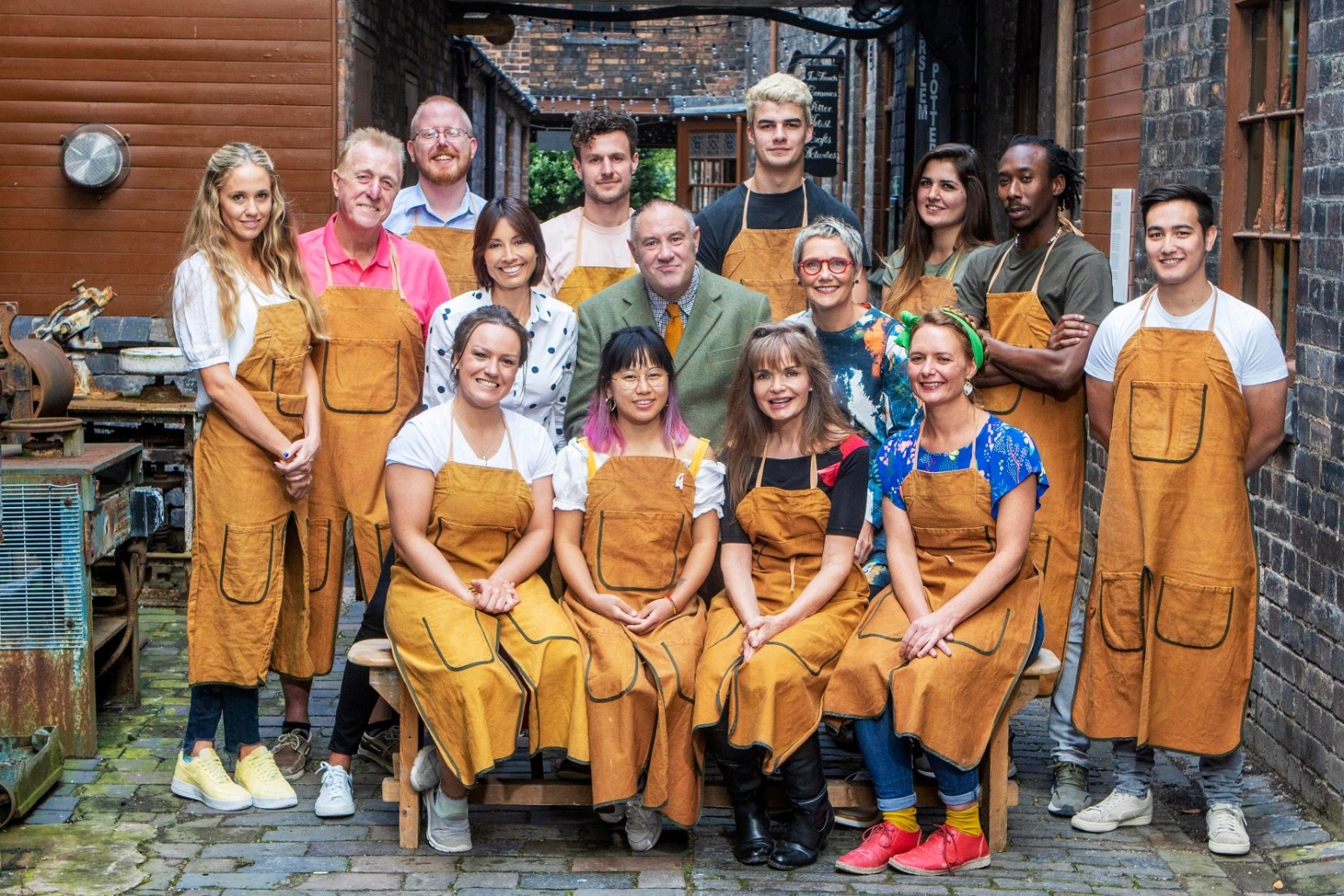 THE GREAT POTTERY THROW DOWN UNVEILS ITS 12 CONTESTANTS