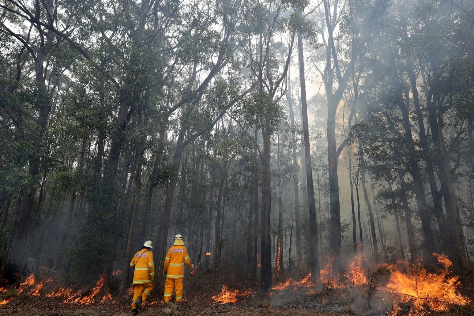 STORMS BRING RELIEF AND DANGER TO AUSTRALIAN WILDFIRES