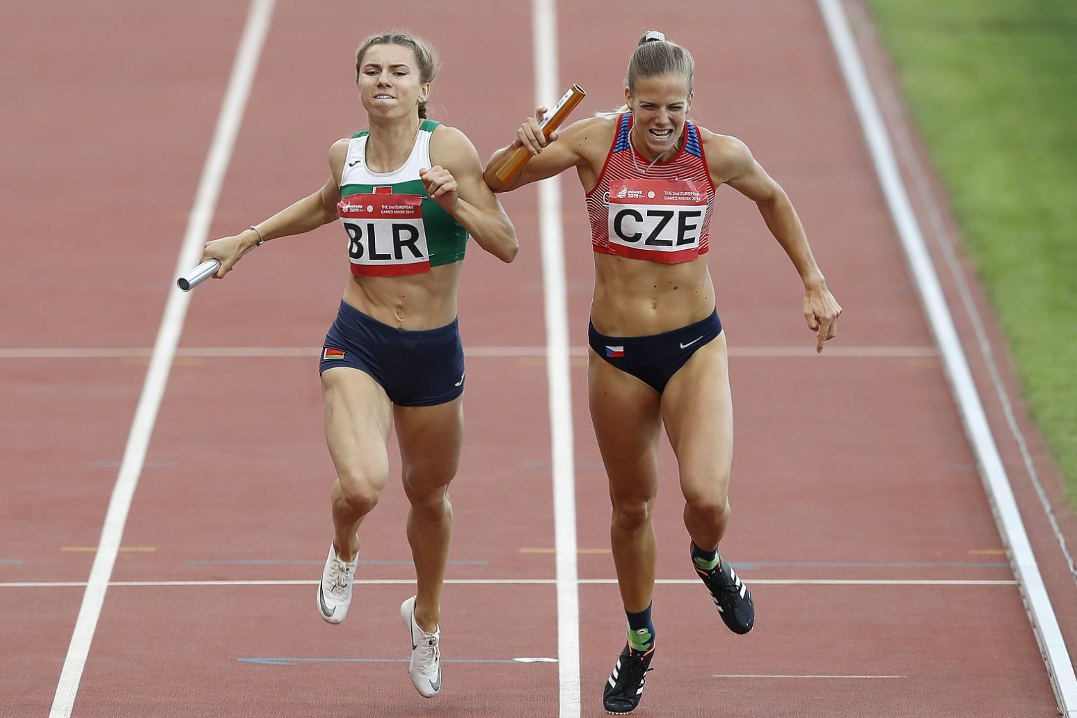 Belarus sprinter says she would have faced punishment at home