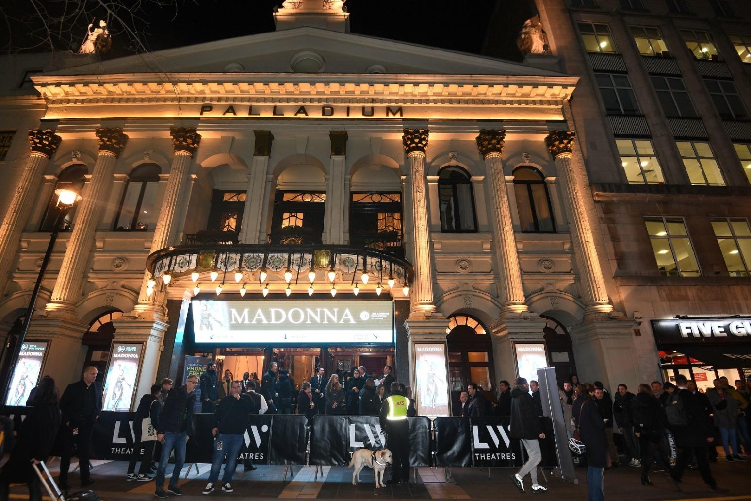 Madonna cancels London concerts