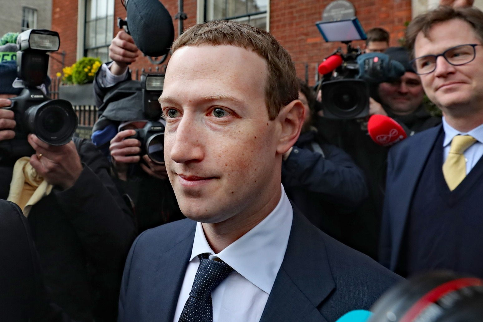 Mark Zuckerberg to voice support for global tax on tech giants