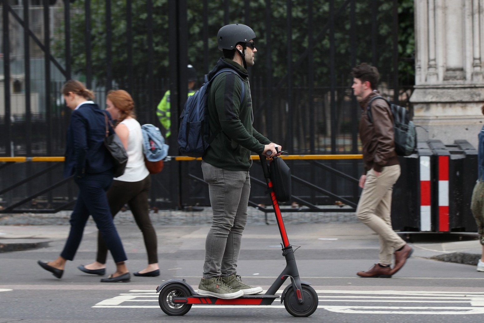 Electric scooters can make cities \