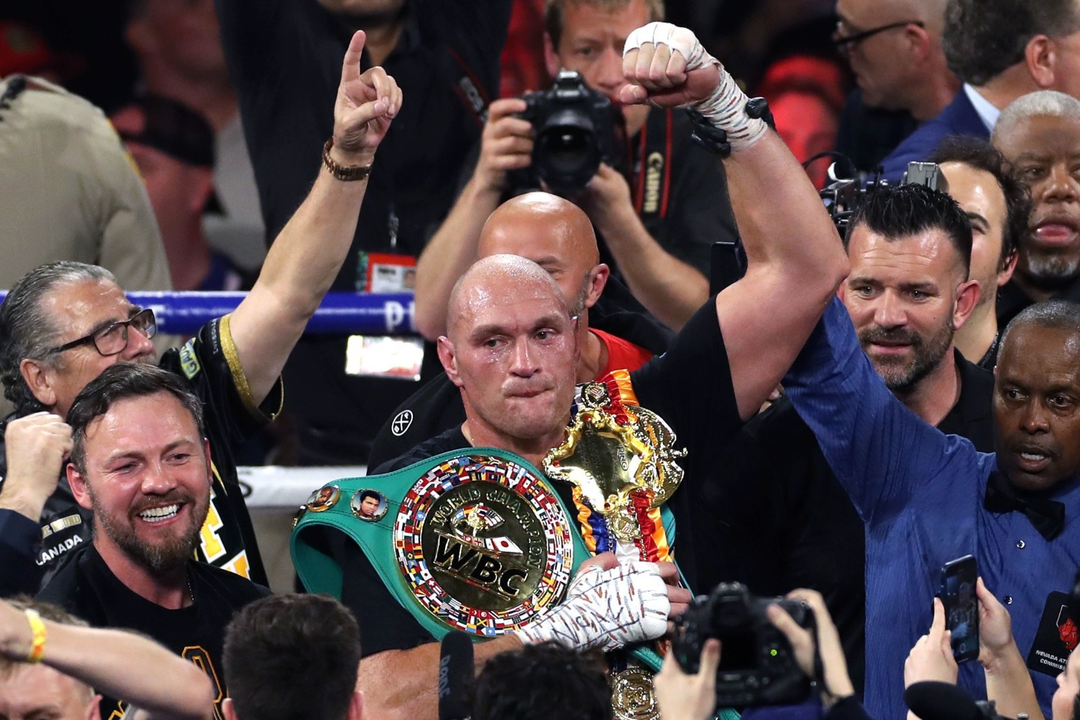 Fury wins WBC World Heavyweight title