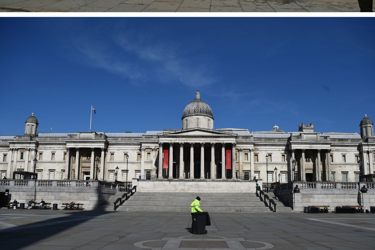 Famous landmarks deserted as coronavirus lockdown continues