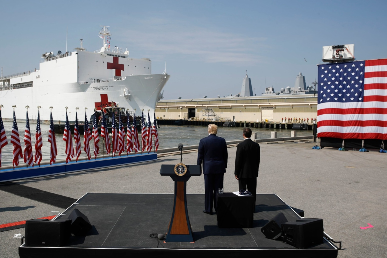 Trump considering New York quarantine