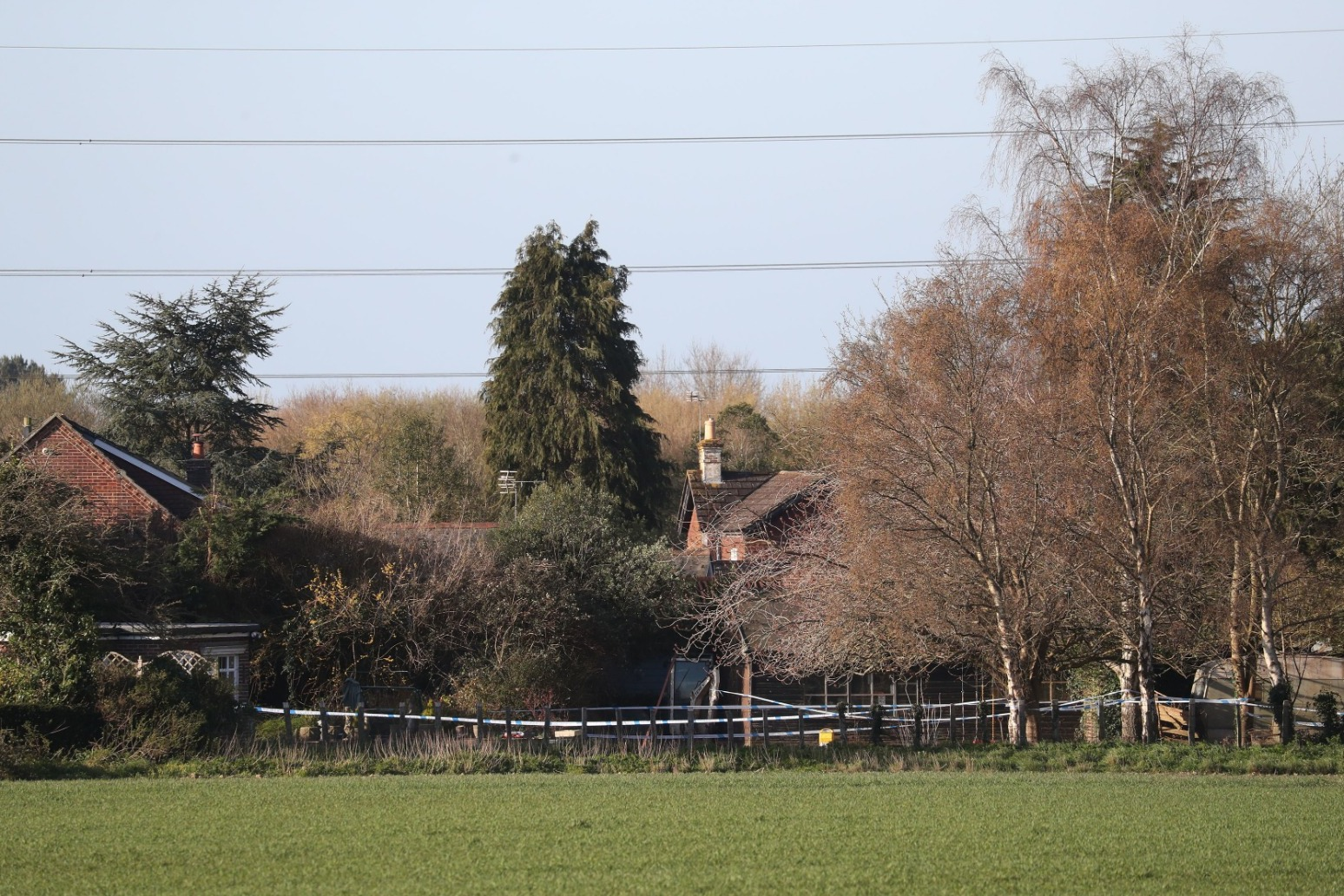 Family of four found dead with dog in West Sussex home