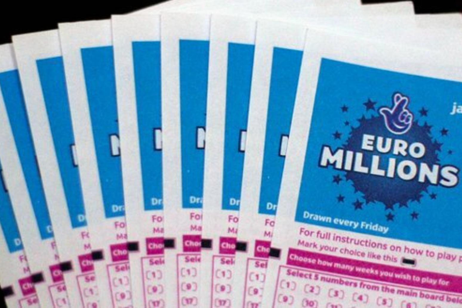 Twenty UK ticket holders win £1m each in Friday's EuroMillions draw