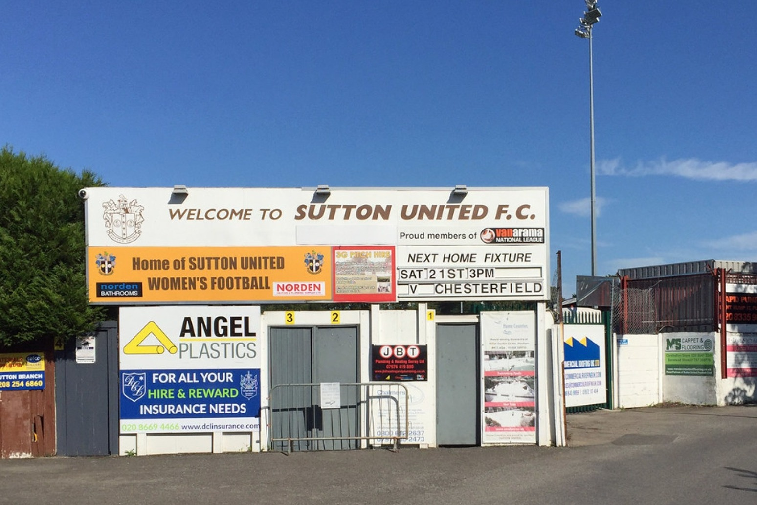 Sutton secure promotion to League Two with win over Hartlepool