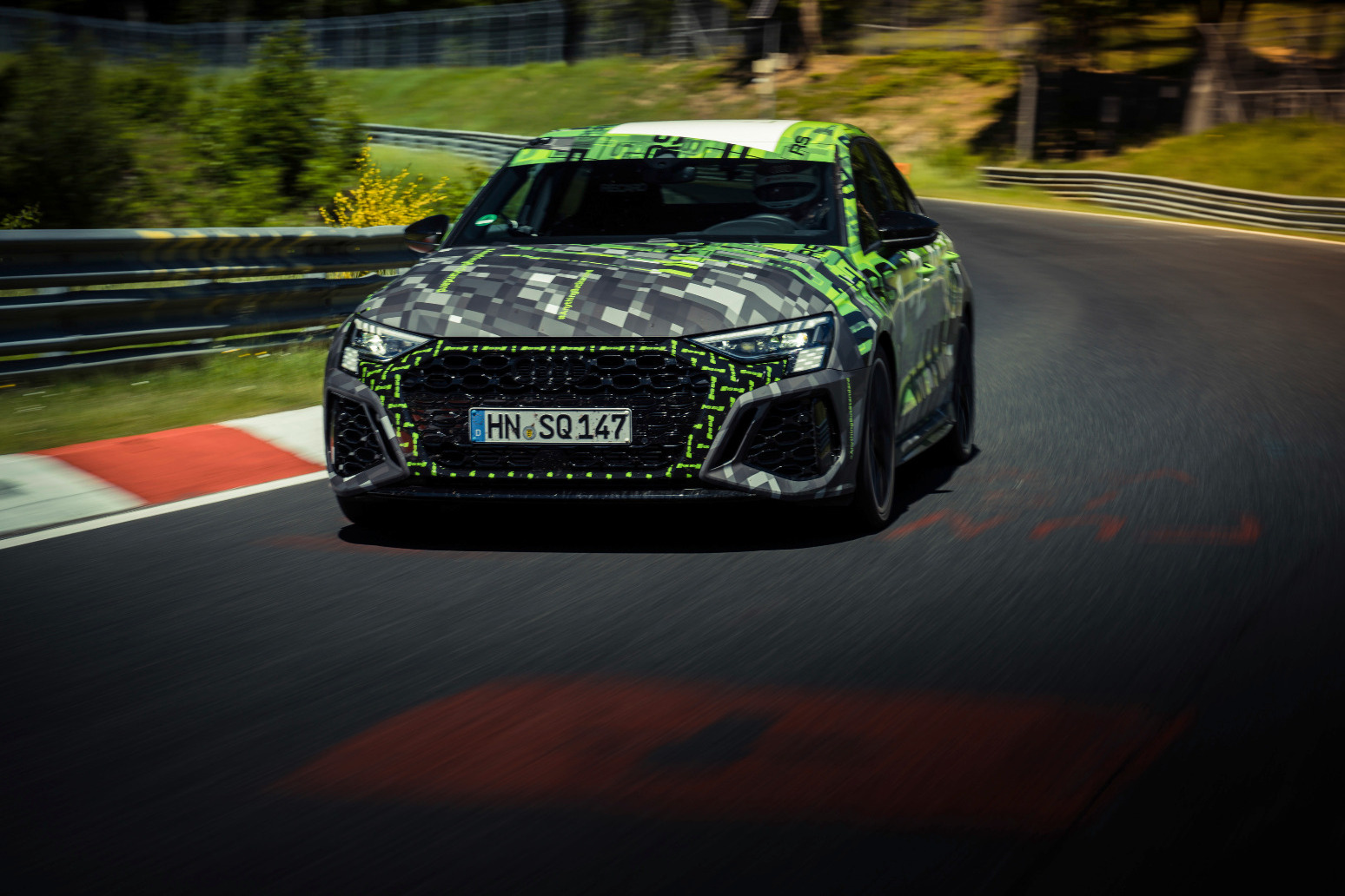 Audi RS3 sets new Nurburgring lap record for the compact class