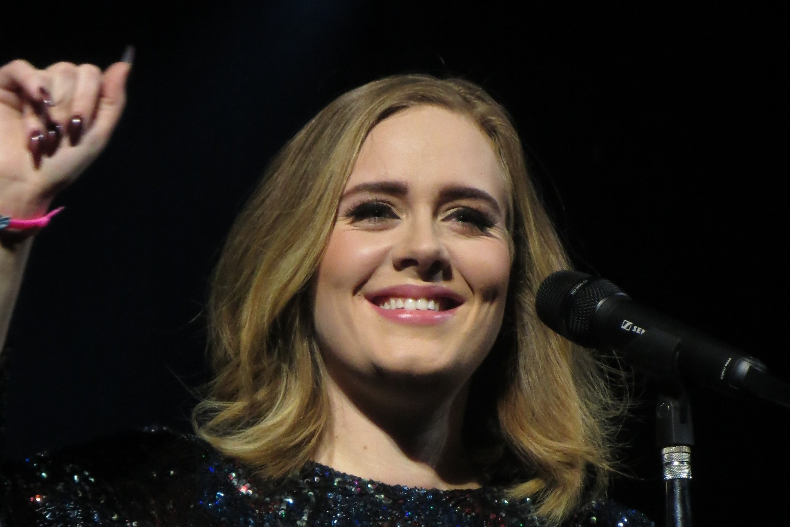 Adele says her weight loss was caused by anxiety
