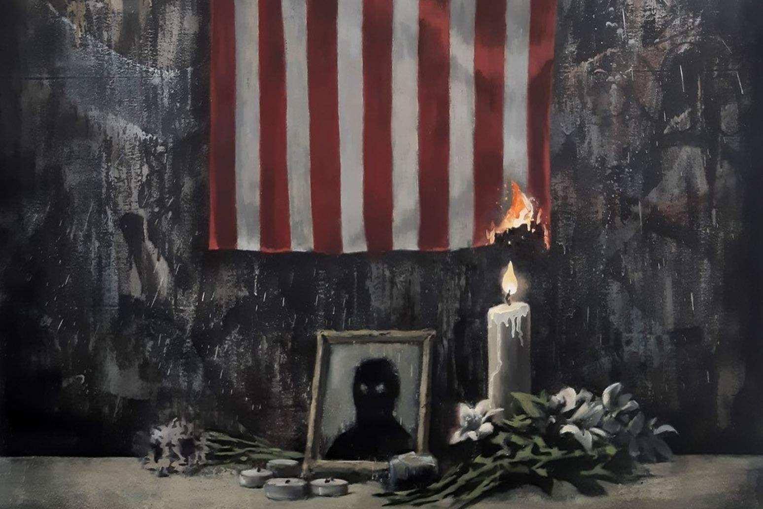 Banksy shows support for Black Lives Matter movement on Instagram