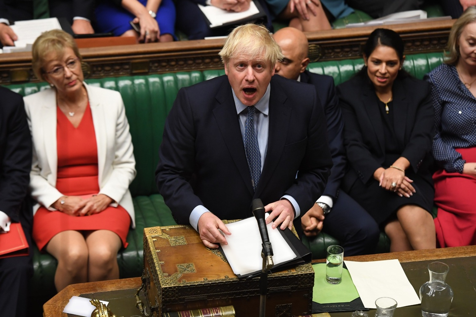 JOHNSON MAKES LATE PLEA TO MPS