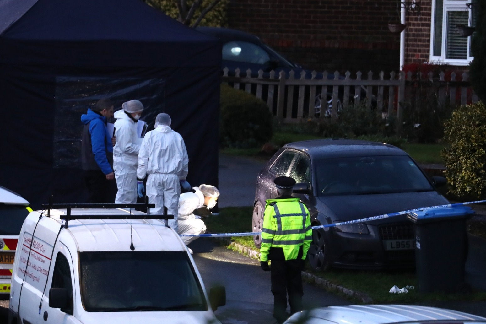 ARREST AFTER DOUBLE STABBING IN SUSSEX VILLAGE