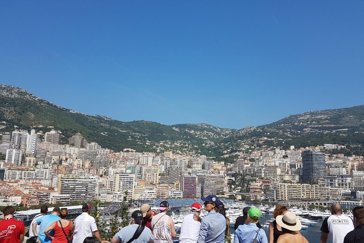 Hamilton starts from Pole for the Monaco Grand Prix