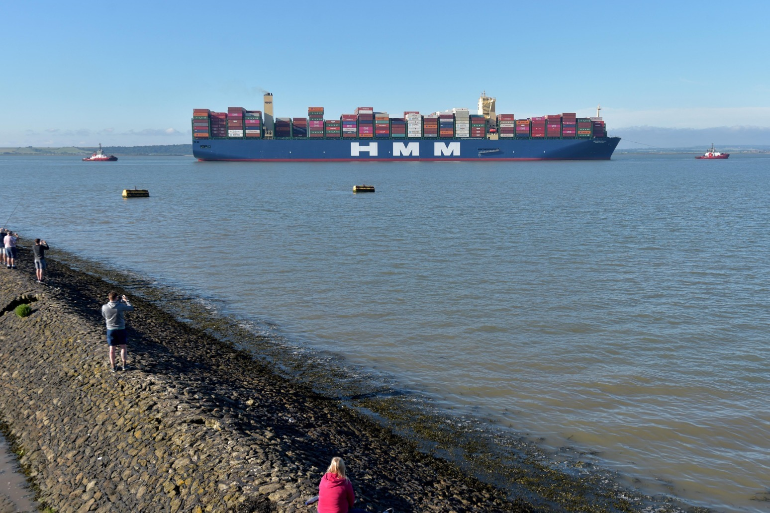 World's largest container ship arrives in UK for first time