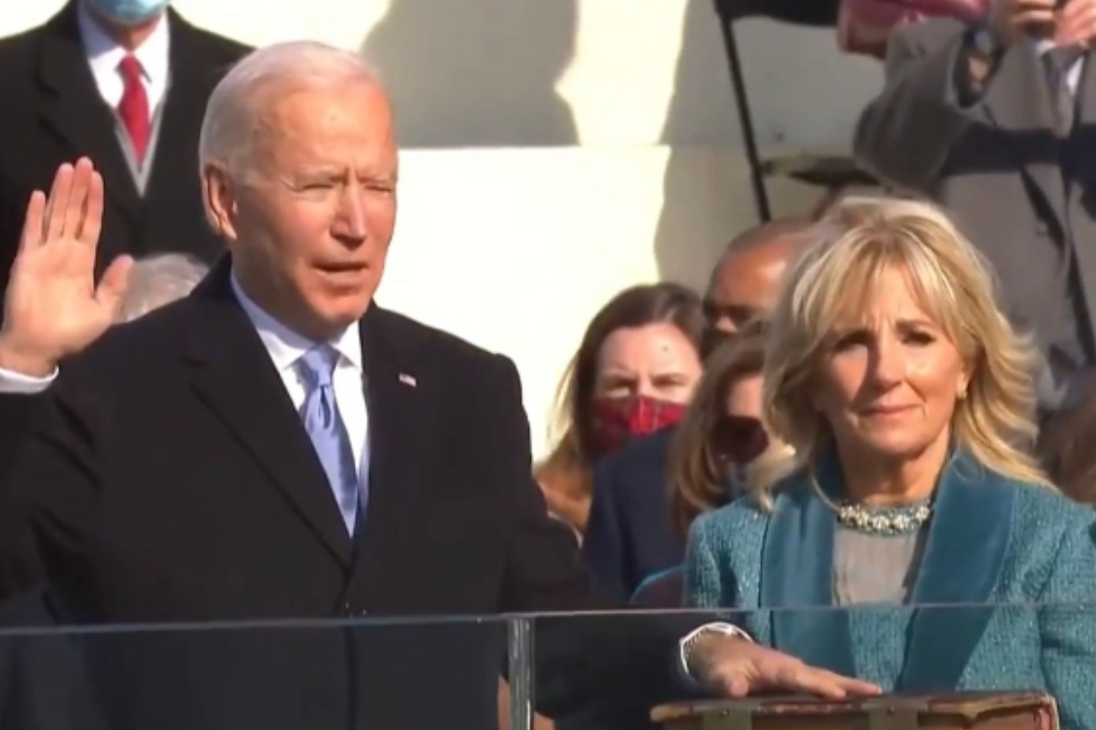 Biden sworn in as US President
