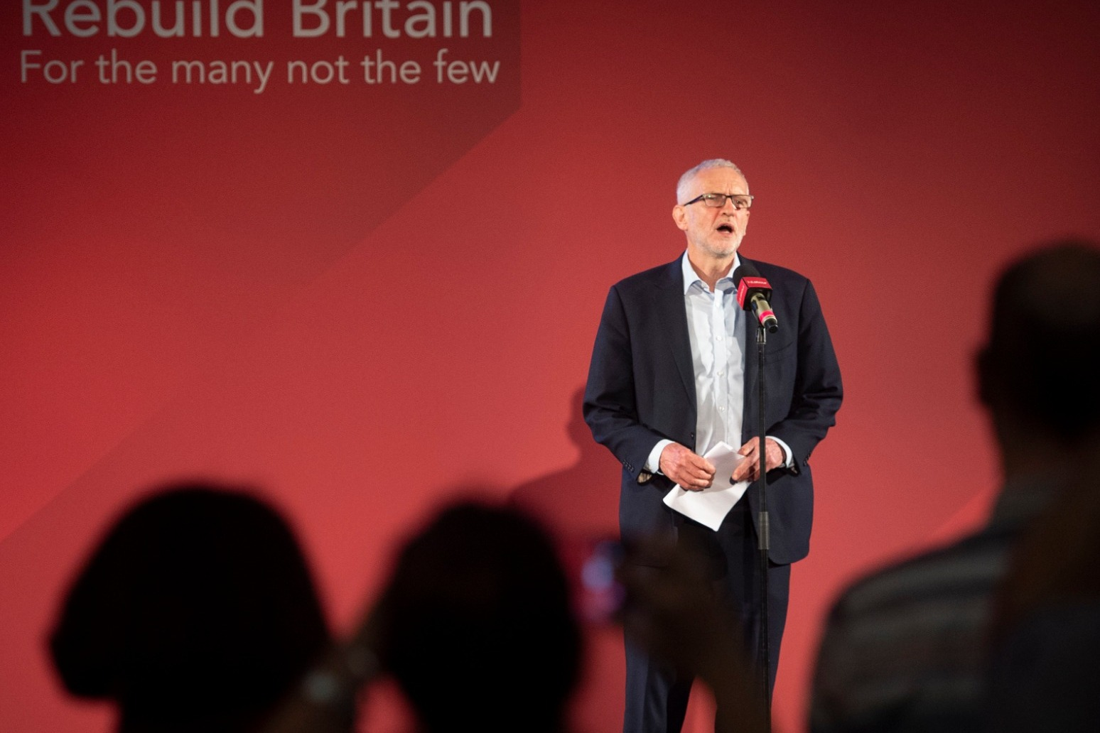 VOTER ID PLANS WILL IMPACT PEOPLE FROM ETHNIC MINORITY BACKGROUNDS, SAYS CORBYN