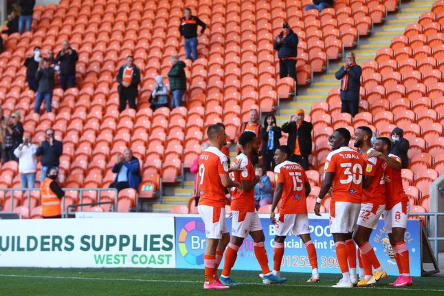 EFL play-offs set to have fans at semis and finals