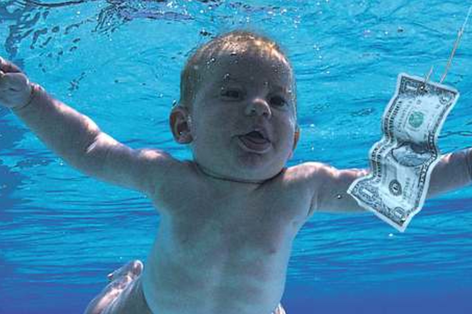 Baby featured on Nirvana's Nevermind album sues band for 'sexual exploitation'