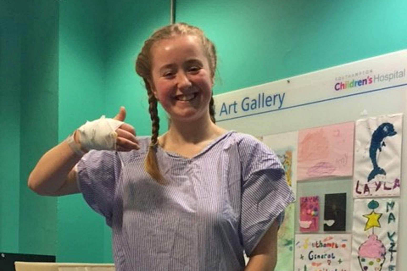 Youngest London Marathon runner raising funds for medics who saved her life