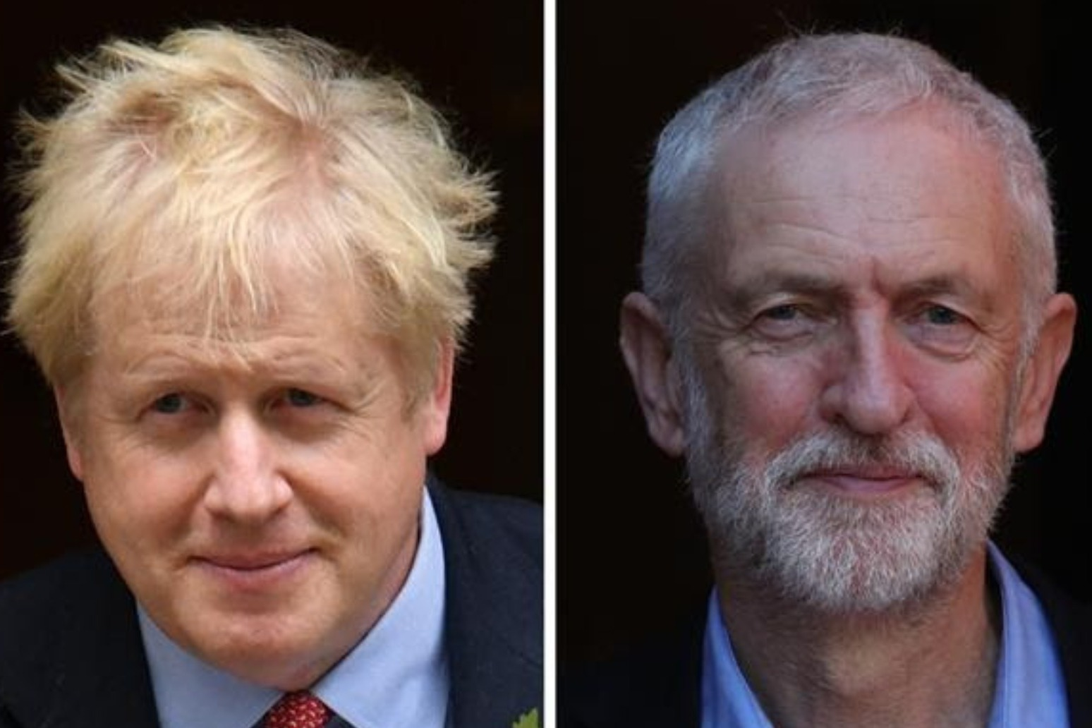 JOHNSON AND CORBYN HEAD FOR TV ELECTION SHOWDOWN